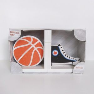 Basketball Bookends Home Decor